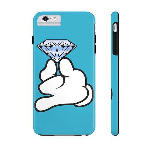 Sky Blue Flawless Bad B!tch  Mate Tough Phone Cases
