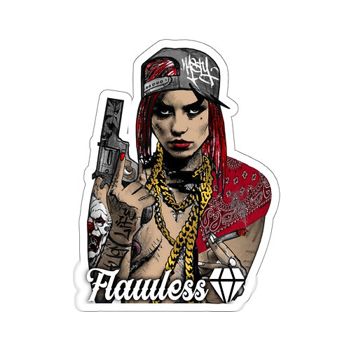 Flawless Bad Bitch Stickers
