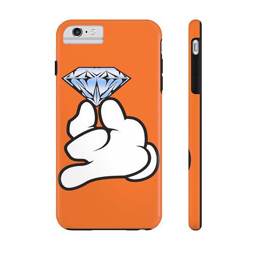 Orange Flawless Bad B!tch  Mate Tough Phone Cases