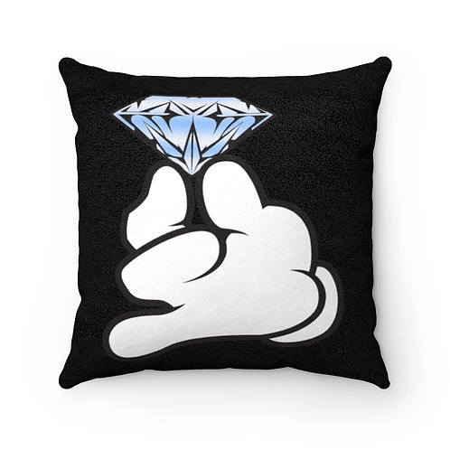 Faux Suede Flawless Pillow