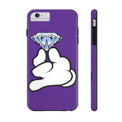 Purple Flawless Bad B!tch  Mate Tough Phone Cases