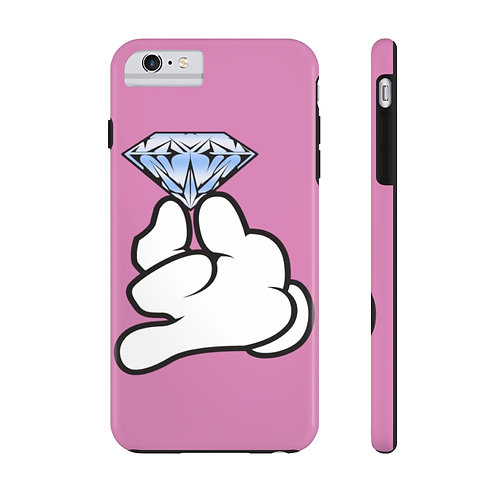 Pink Flawless Bad B!tch  Mate Tough Phone Cases