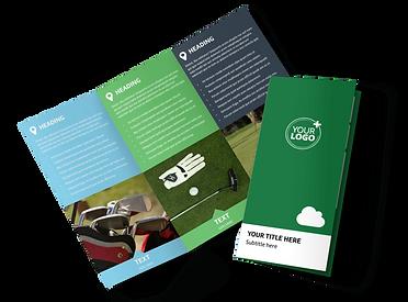golf-membership-tri-fold-brochure-templa