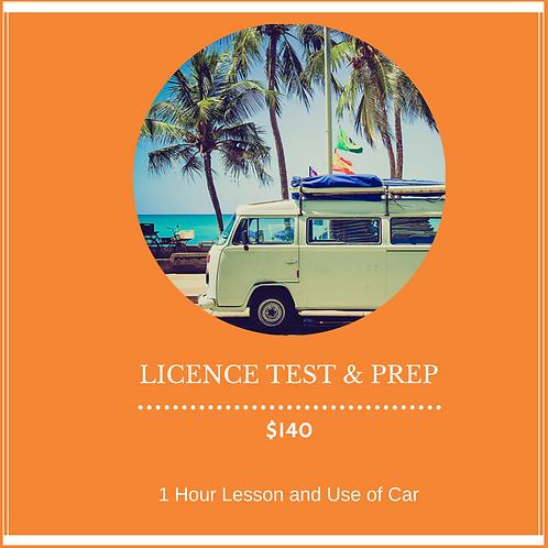 Licence Test & Preparation