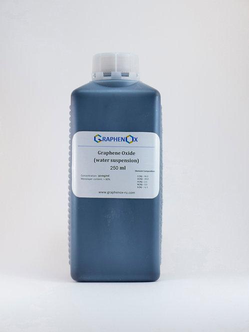 Dispersion in Water: Single Layer Graphene Oxide (250 ml)