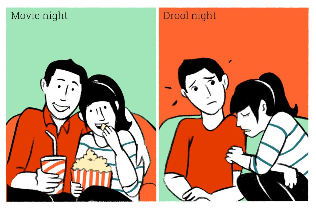 24 movie night