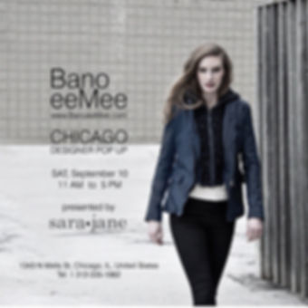 Bano Eemee Leather Trunk Show on Sept 10 at 11 a.m. to 5 p.m.