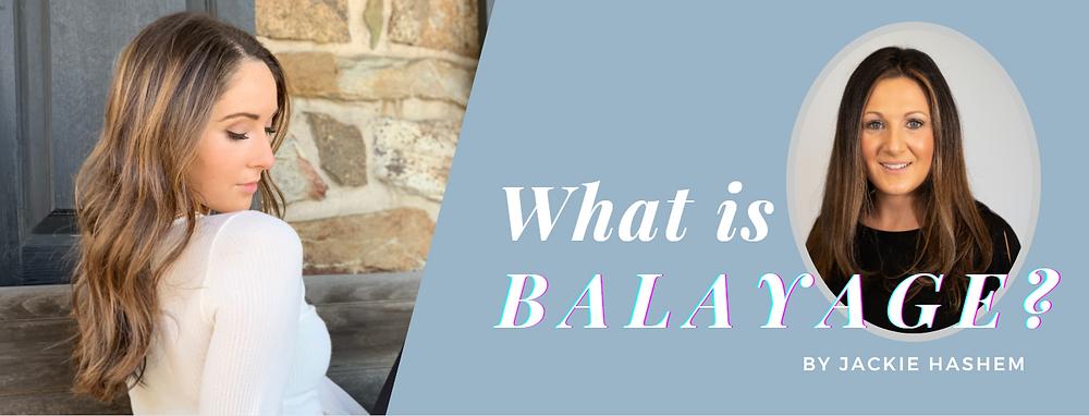 Balayage at DeCola Salon by Jackie Hashem