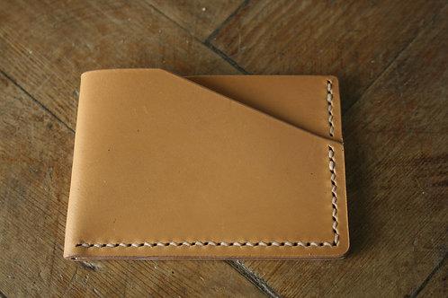 Minimalistic card wallet London Tan