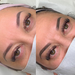 Before & After Powder Brow