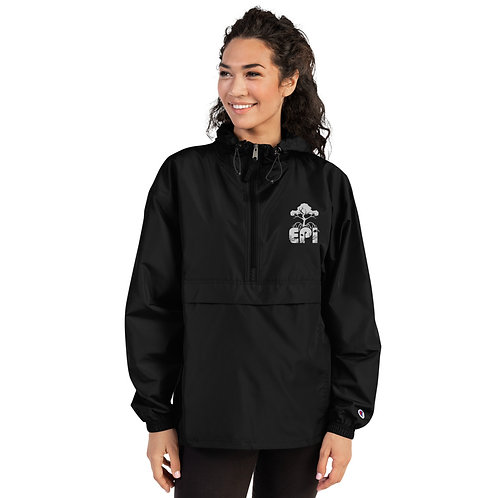 Belize Mangrove LIfe Embroidered Champion Packable Jacket