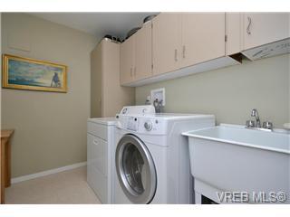 Large laundry area
