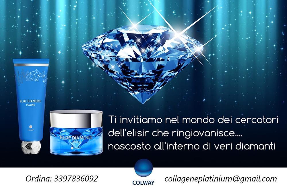 Peeling Diamante Colway e Diamond Cream Colway