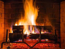 Atwood Yacht Club fireplace