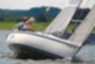 Sailboat at Atwood Lake