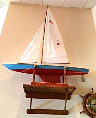 John Rundt Replica Sailboat at Atwood Yacht Club