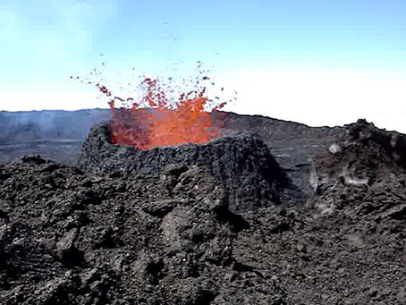 Bunt & Frei - Der Vulkan speit...