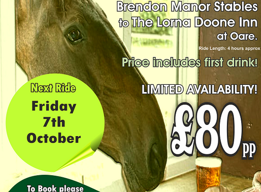 Brendon Manor Pub Ride.