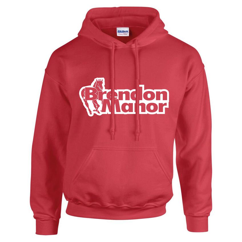 bm hoodie red