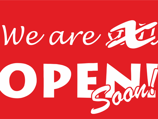 We are re-opening from December 2nd!