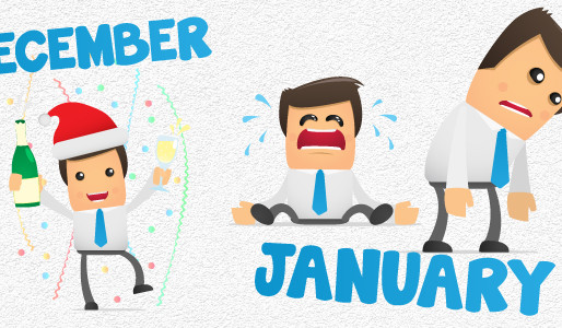 Beat those January Blues...