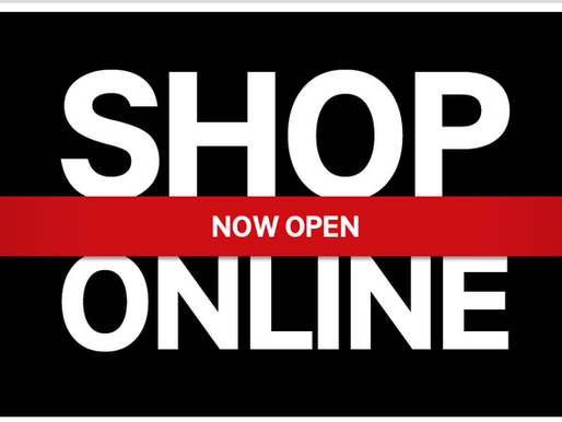 Now You Can Shop Online!