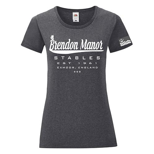 Brendon Manor Baseball Style Tee (female fit)