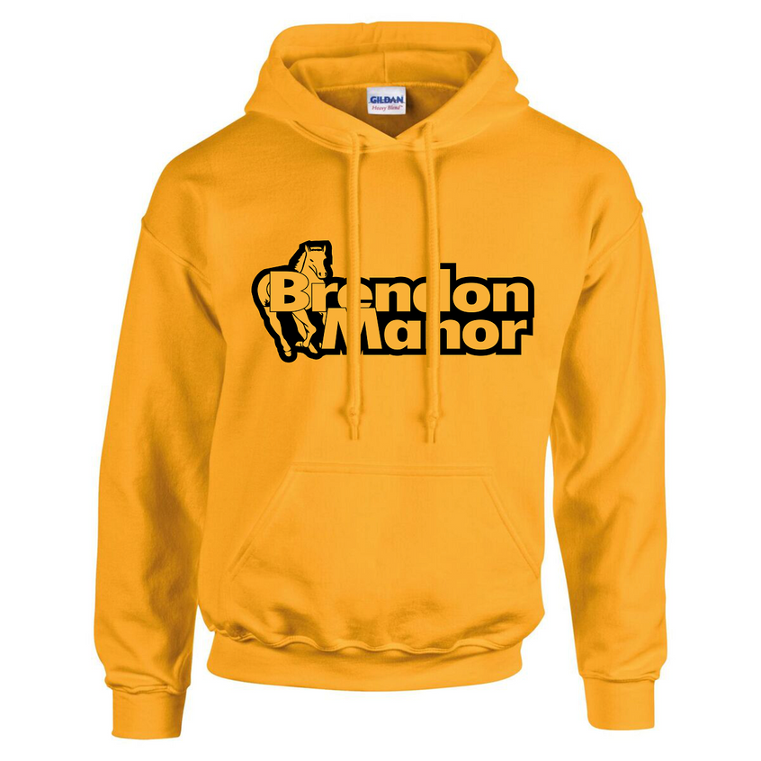 bm hoodie gold