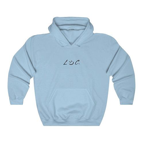 LOC. Baby Blue Hoodie