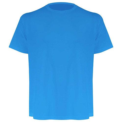 Camiseta masculina turquesa