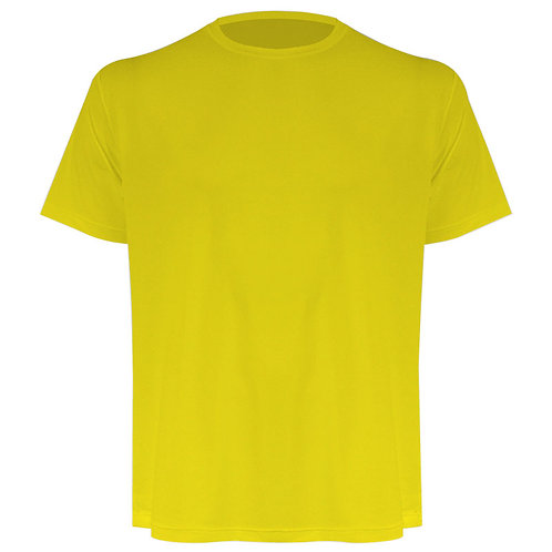 Camiseta masculina amarela