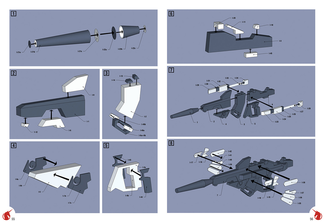 9.Instructions to make the laser gun