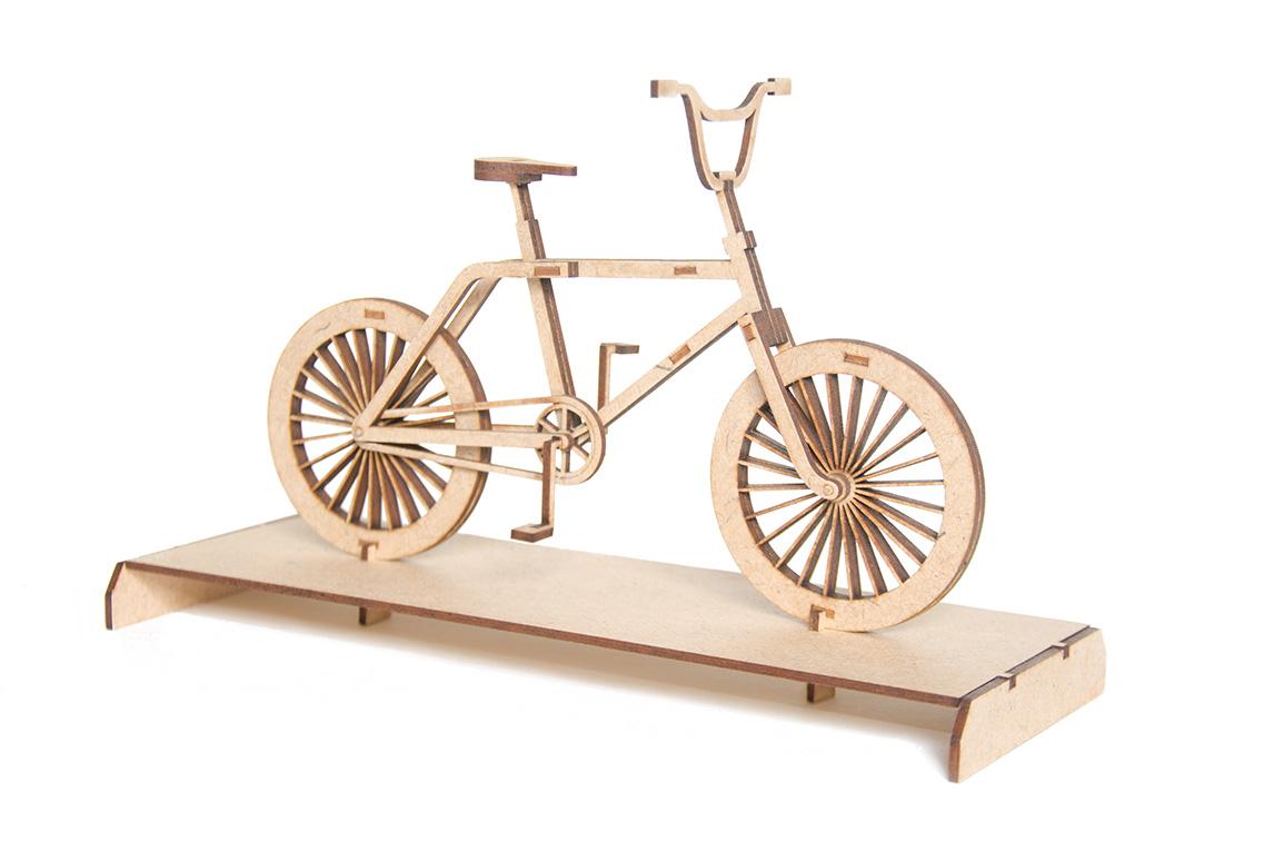 7.BMX bicycle 3D puzzle