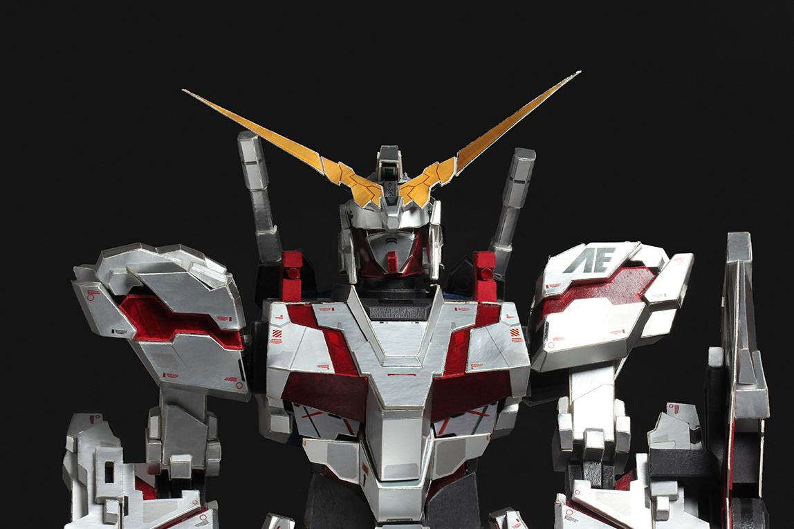 1.RX0 Unicorn Gundam Paper Model
