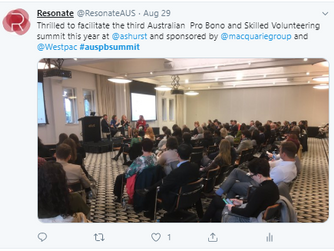 The 3rd Annual Australian Pro Bono and Skilled Volunteering Summit