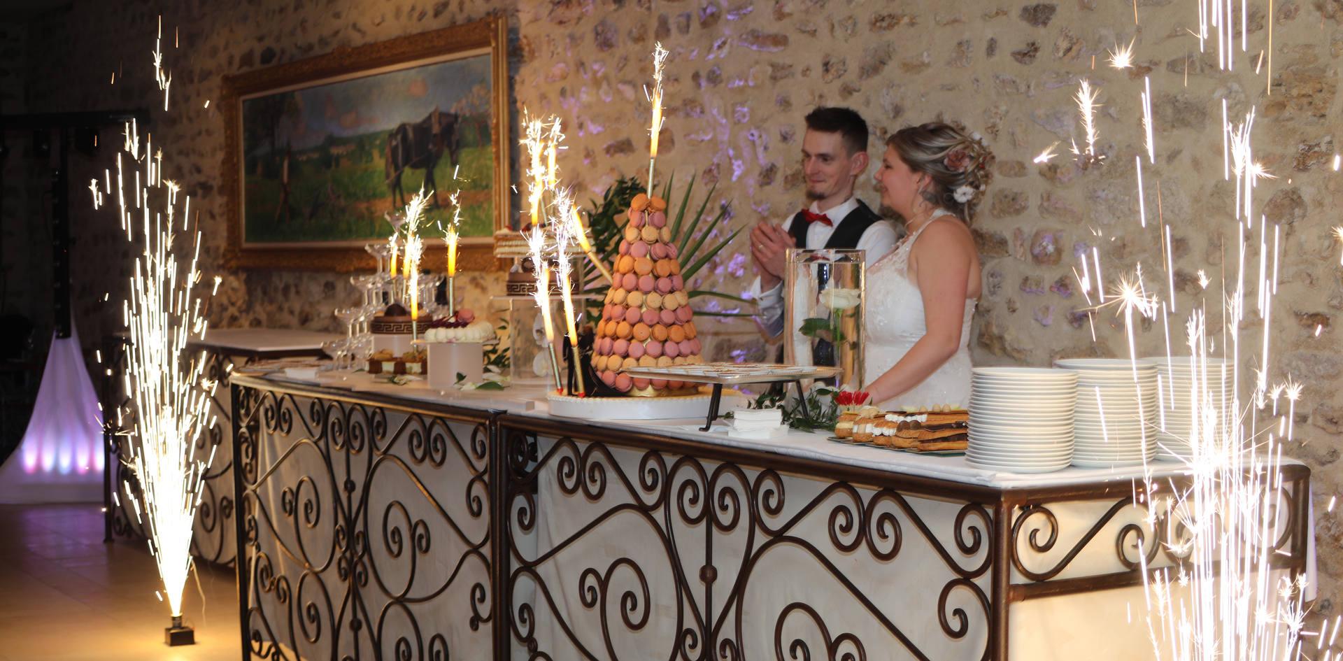 jets de scenes mariage