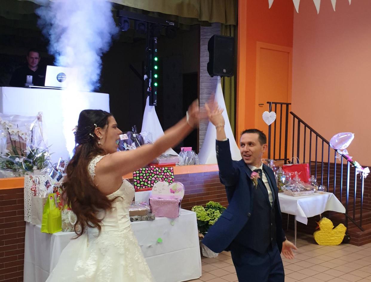 entree des mariés