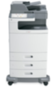 Lexmark XS796 colour A4 printer
