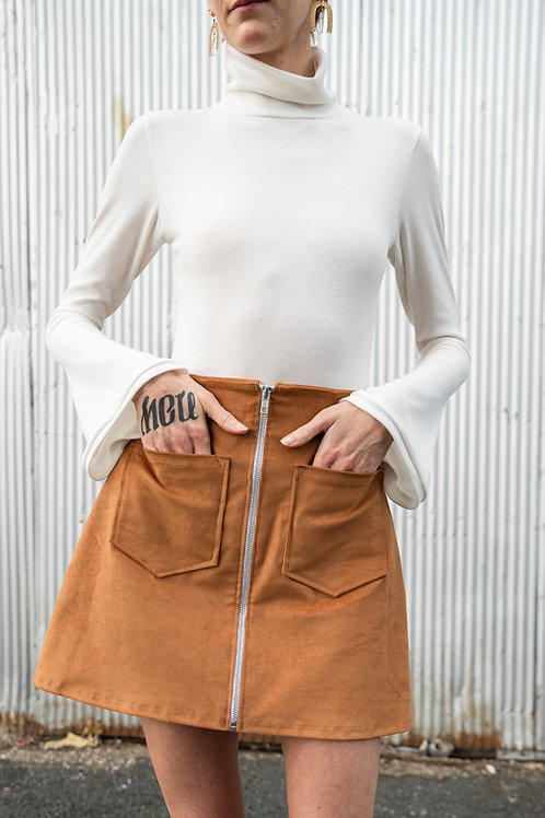 Pocket Front Skirt