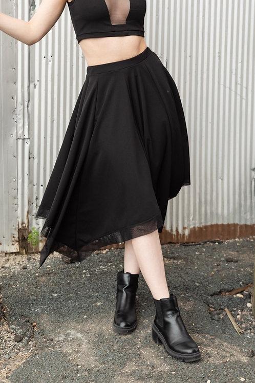 Black Square Skirt