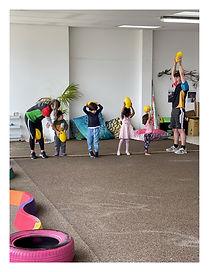 Sports program childcare