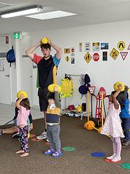 Sports in childcare centre