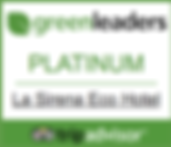 La Sirena Eco Hotel Trip Advisors Green Leaders Platinum