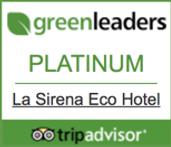 La Sirena Eco Hotel Trip Advisors Green Leaders Platinum