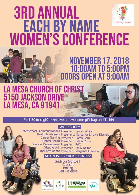 EACH BY NAME WOMEN'S CONFERENCE