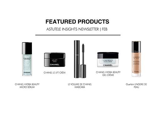 Astutele Feb Beauty Lux Package | Free Samples