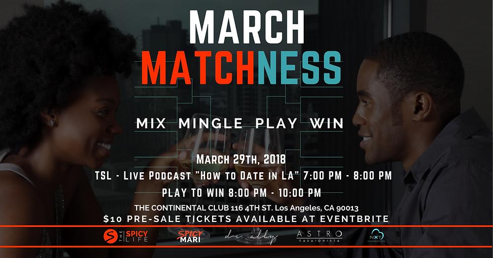 March Matchness Event Flyer