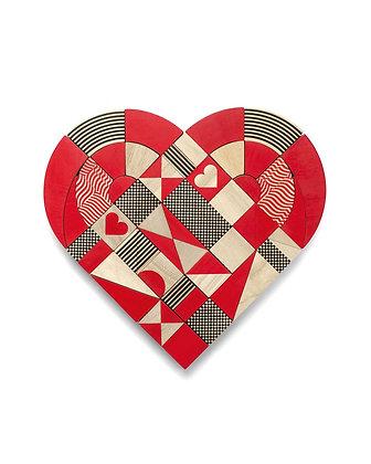 Puzzle HEARTSHAPES