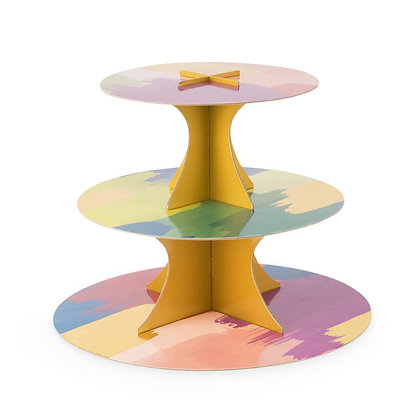 Watercolor Paper Cakestand