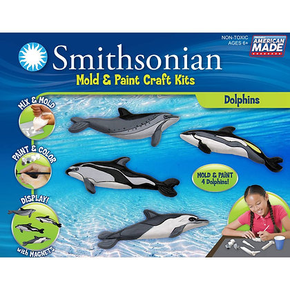 Smithsonian Mold and Paint Kit - Dolphin